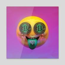 2021 Emojis | Rare Mouth - Acrylic by Rodrigo Rezende