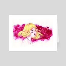 Pink Daydreams - Art Card by laviride