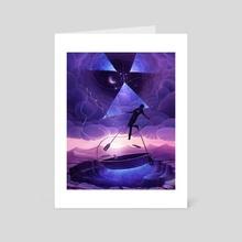 Fisherman - Art Card by Anton Karlik