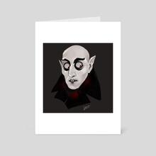 Nosferatu - Art Card by Teresa Vannini