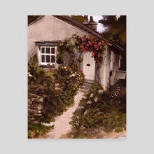 Cottage - Canvas by jas sparks