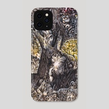 eternal separation - Phone Case by sub-tropic