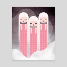 Girls Choir - Canvas by Sun Yeo