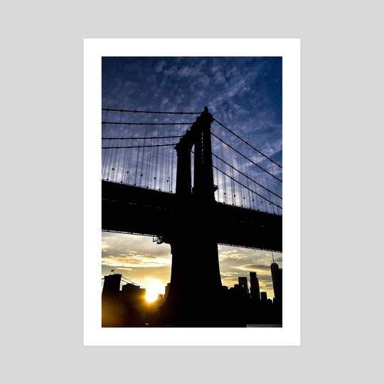 Manhattan Bridge by Polyanna Isepan