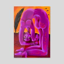 Ego Death  - Acrylic by Mithsuca Berry