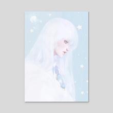 Yue - Acrylic by Cathy Tran