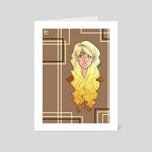 Vanille - Art Card by Marta Valdonio