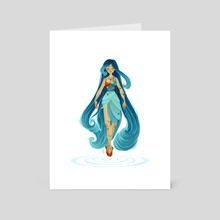 Water - Art Card by Kimmy Hescock