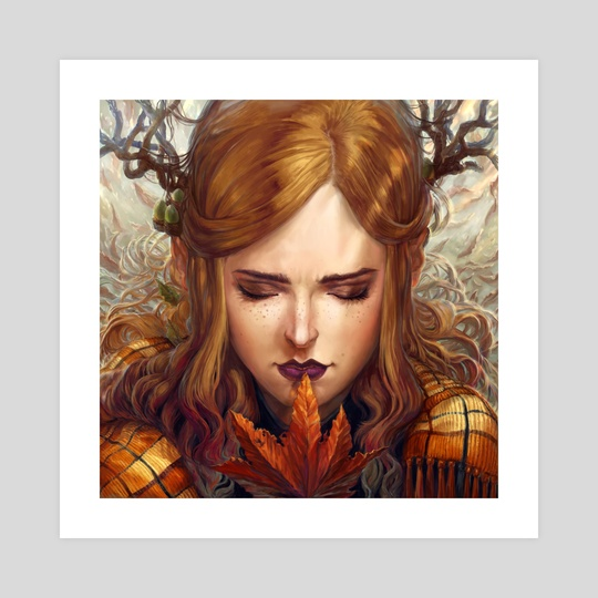 Autumn Girl by Naomi Robinson