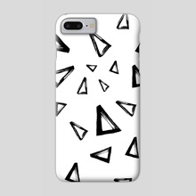 Triangles - Phone Case by Nika Akin