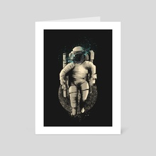 Astronaut - Art Card by Muhammad Sidik