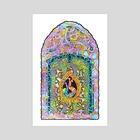 Gothic Window - Art Print by Ciara Smith