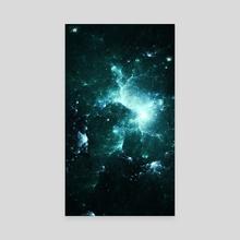 Nebula Ten - Canvas by Andi GreyScale
