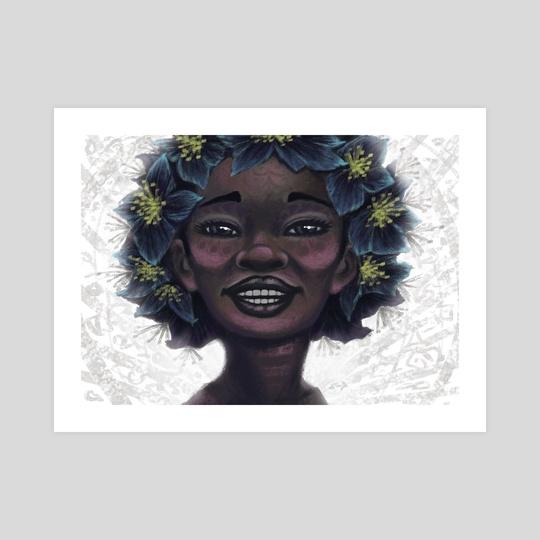 Onyx Flower by Jesse Brown