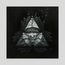 Blind - Canvas by Alejandro Diaz