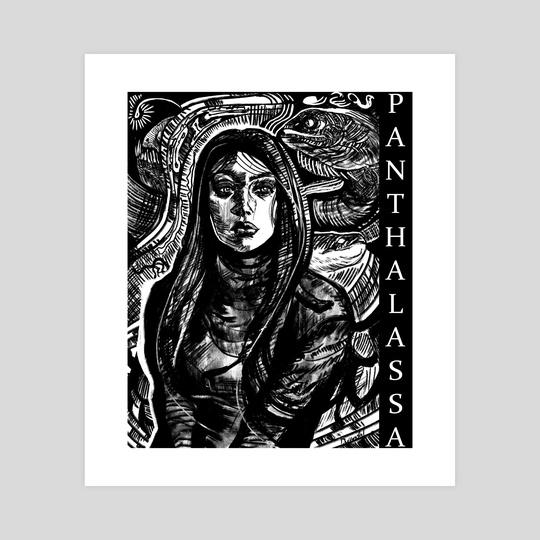 Transfiguration (Panthalassa) by Dylan Safford