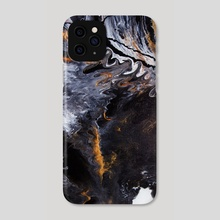 Something Completely Unlike Marble - Phone Case by Jennifer Walsh