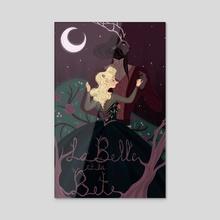 La Belle et La Bete - Acrylic by Jordan Kincaid