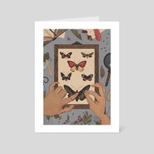 Entomology - Art Card by Shane Tolentino