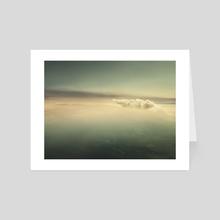 Color Sky #3 - Pointer - Art Card by Matthew Edward