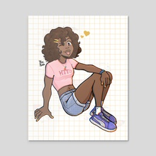 Our Fave Girl - Acrylic by The Kodo