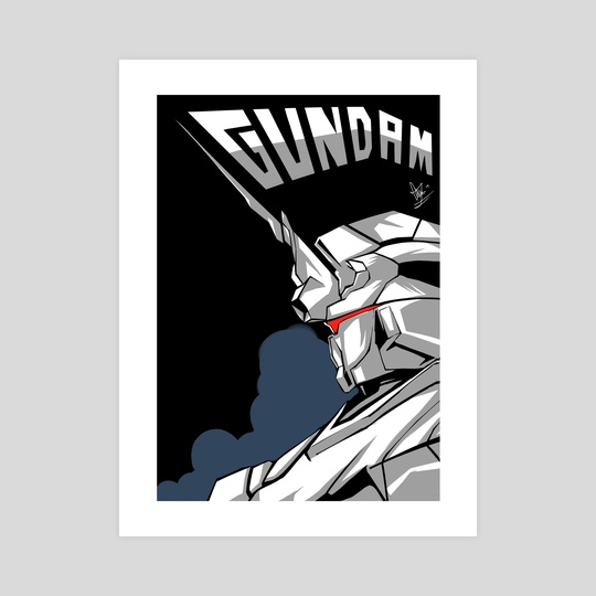 Gundam by Chuckuddin