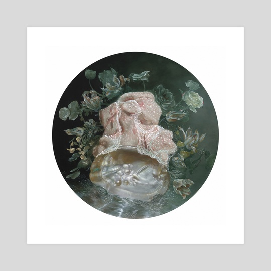 Portrait of an Irregular Pearl  by Nicole Duennebier