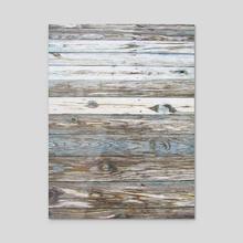 Wood Grain - Acrylic by Rachel Precht