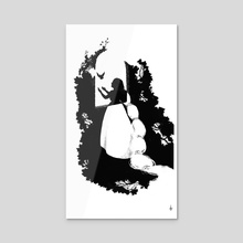 Fairytale Dream: Free of Burdens - Acrylic by Allison Gloe