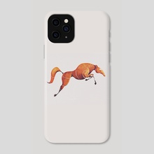 Horse 1 - Phone Case by ali saei