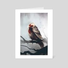 Gorrion - Art Card by Ari Ibarra