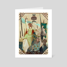 Empress of the Second  - Art Card by awanqi