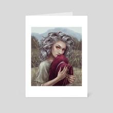 Naiad - Art Card by Daria Dzyuba