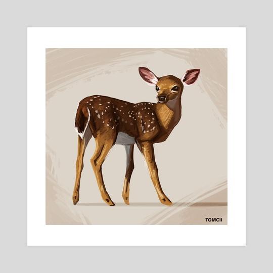 Deer by Tomcii Art