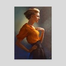 Suzanne - Canvas by Thomas BIGNON