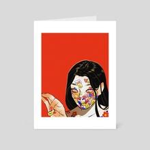 Egoist - Art Card by Hayley Hanyuda Wong