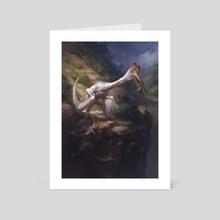Quetzalcoatl - Art Card by Nikolai Litvinenko