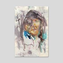 Sketchbook test  - Acrylic by Juliette GUENARD