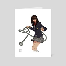 Gogo Yubari - Art Card by Amelia Vidal