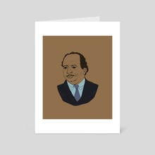 Stanley James Hudson - Art Card by Ben Mullins