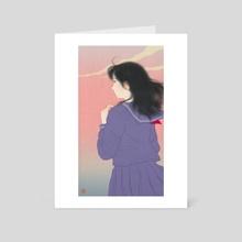 Kaede - Art Card by Sai Tamiya