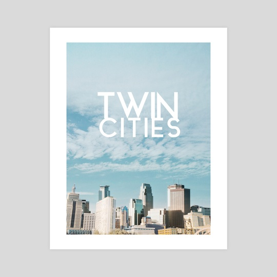 Twin Cities-Minneapolis and Saint Paul Minnesota by Anthony Londer