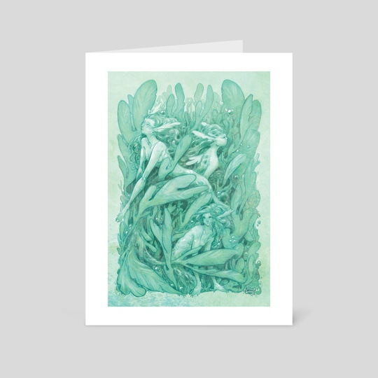 LeafySeaMaids by Samrae Duke