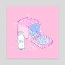 Multigrain Fairy Bread - Canvas by Laura Escalona