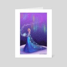 Let it go - Art Card by Olivia Ó Duinn