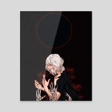 Rebirth - Acrylic by Bloom Illus