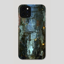 Kowloon Walled City - Phone Case by Jared Shear