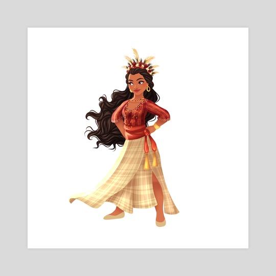 Filipiniana Princess: Moana by Greco Archibald