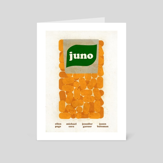 Juno Film Poster by Paul Rice