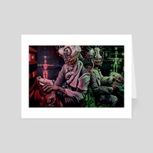 Woman modifier - Art Card by Dump Valve